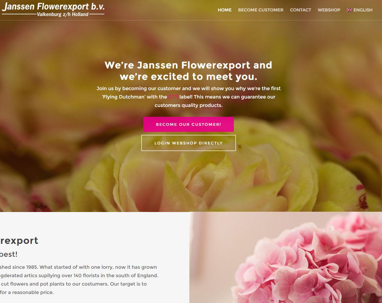 Janssen Flowerexport
